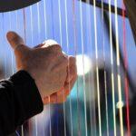 Wist je dat je bij het harp spelen