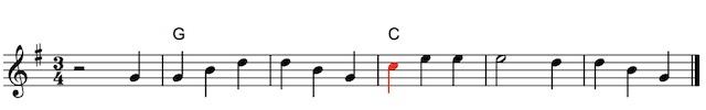 harpspelen met akkoorden